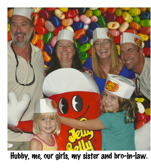 Family at Jelly Belly