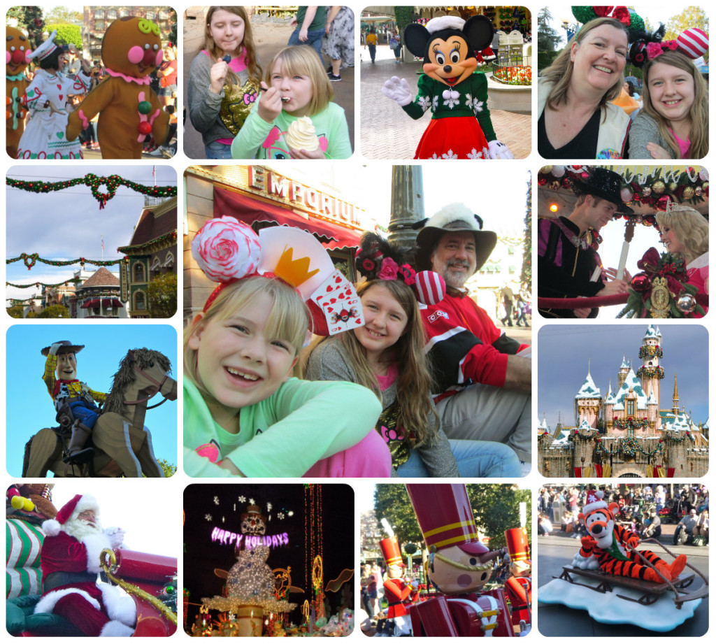 Disney Thanksgiving collage