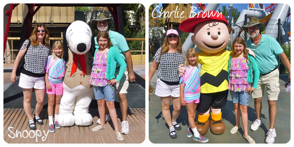 knotts Snoopy and Charlie Brown