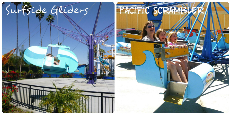 Knotts Glider and Scrambler